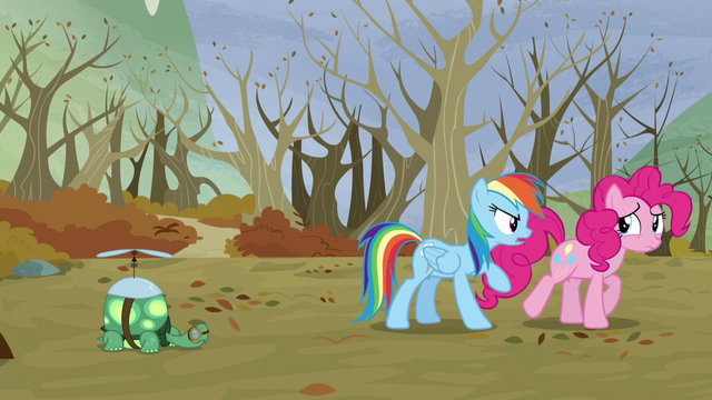 File:Pinkie walks away from Rainbow S5E5.png