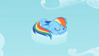Rainbow Dash napping S02E06
