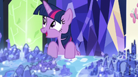 Twilight Sparkle getting an idea S7E1