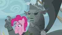 "Pinkie ""This can't all be because of a missing hunk of gold"" S5E8"