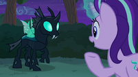 Starlight Glimmer notices Thorax's wings S6E25