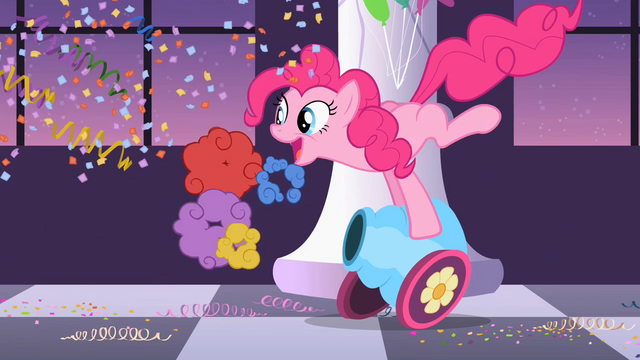 File:Pinkie Pie firing her cannon S2E9.png