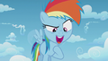 """Rainbow Dash """"I'm even faster than that!"""" S5E25.png"""
