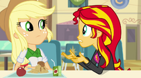 Sunset Shimmer talks about the Dazzlings EG2