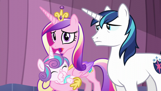 File:Cadance talks about the Crystal Empire library S6E2.png