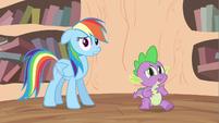 Rainbow Dash see mane S2E20