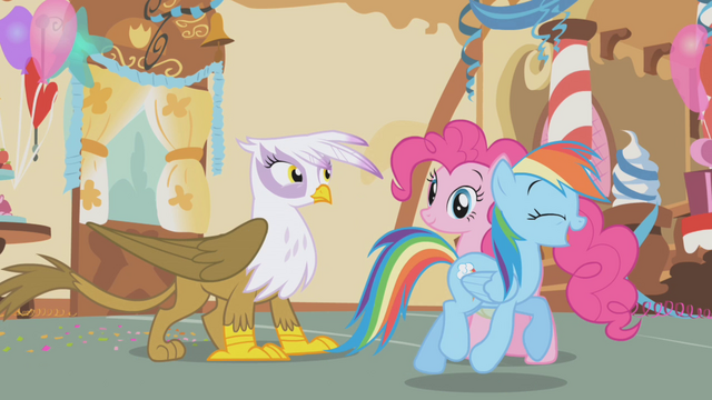 File:Rainbow trotting away from Gilda S1E05.png