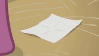Blank note S1E12