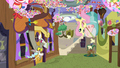Discord and Fluttershy holding butterfly nets S7E12.png