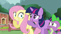 Fluttershy worries for her woodland friends S3E05.png