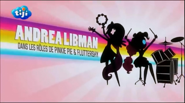 File:My Little Pony Equestria Girls Rainbow Rocks 'Andrea Libman as Pinkie Pie & Fluttershy' Credit - French.png