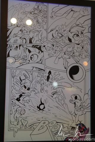 File:My Little Pony comic issue 1 page 16 at My Little Pony Project 2012 New York.jpg
