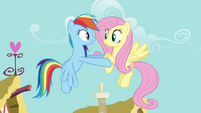 "Rainbow Dash ""I bet you're excited, huh"" S4E04"