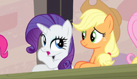 "Rarity ""no wonder nopony's wearing anything"" S5E1"