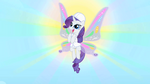 Rarity in front of the sun at the weather factory S01E16.png