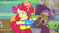 Apple Bloom and Big Mac getting scared S4E09.png
