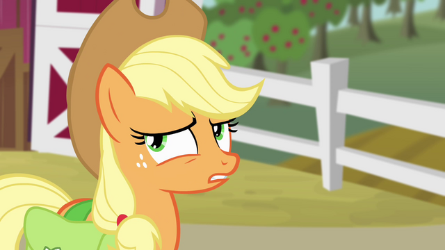 "File:Applejack ""your teeth are fine"" S4E09.png"