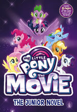 MLP The Movie The Junior Novel cover