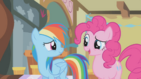 "Pinkie Pie ""hang out with party poopers"" S1E05"