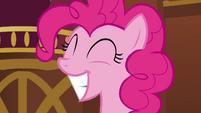 Pinkie Pie big smile S3E3