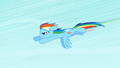 Rainbow Dash accelerating S1E16.png