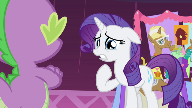 "File:Rarity ""possibly have that I don't?!"" S4E13.png"