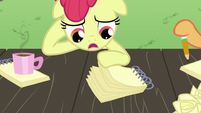 Apple Bloom with notebook S2E23