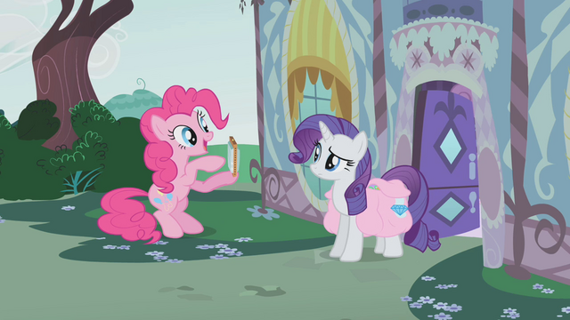 File:Pinkie shows Rarity her harmonica S1E10.png