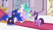 Princesses standing before Twilight S4E25.png