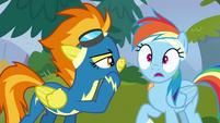 Rainbow shocked by Spitfire's nickname S6E7