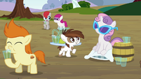Sweetie Belle and Pipsqueak S4E15