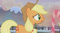 Applejack hears Maud Pie's voice S5E20