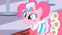Pinkie Pie excited to be at the Gala S01E26