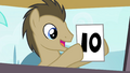 Dr. Hooves giving a 10 S4E20.png