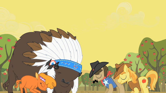 File:Peace between Appleloosans and buffalo S01E21.png