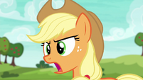 "Applejack shouting ""come on now!"" S6E18"