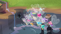 Breezie group in a waterfall valley S4E16.png