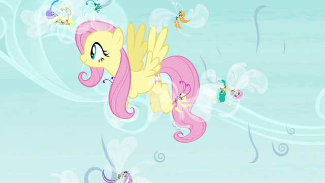 File:Fluttershy saving the Breezies S4E16.png