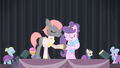 Prim and Suri shake hooves S4E08.png