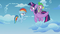"""Rainbow Dash """"that wouldn't really be fair"""" S5E25.png"""
