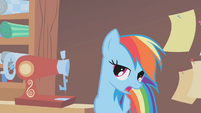 Rainbow Dash wants her dress to be cool S1E14