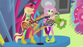 Applejack and Fluttershy perform Shine Like Rainbows EG2.png