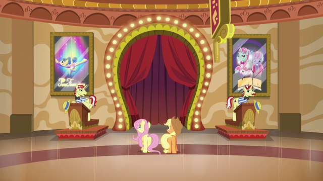 File:Applejack and Fluttershy talk to Flim and Flam S6E20.png