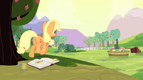 Applejack walk S4E20