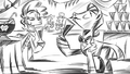Drawing showing silent cider auction and tasting S4E13.png