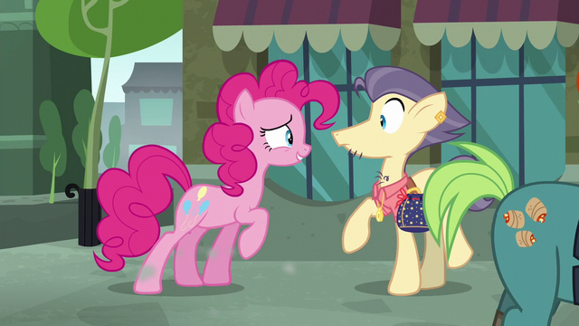 File:Pinkie Pie talking to Pouch Pony S6E3.png