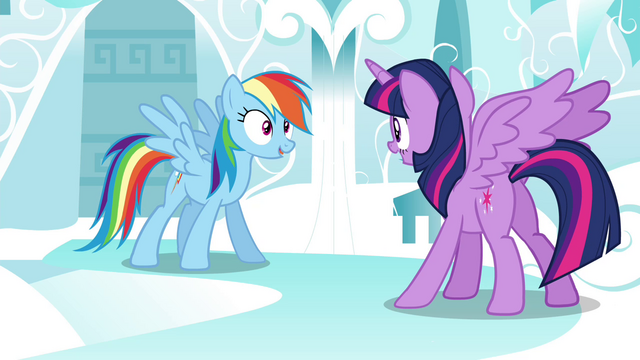 "File:Rainbow ""who later named the group the Wonderbolts!"" S4E21.png"