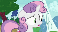 "Sweetie Belle ""it's not exactly great"" S7E6"