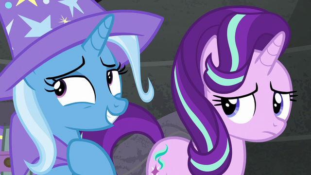 File:Trixie being both smug and modest S6E25.png