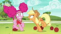 "Applejack shouting ""all of Ponyville!"" S6E18"